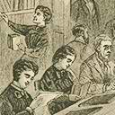 Image - Engraving of the Oneida Community Library
